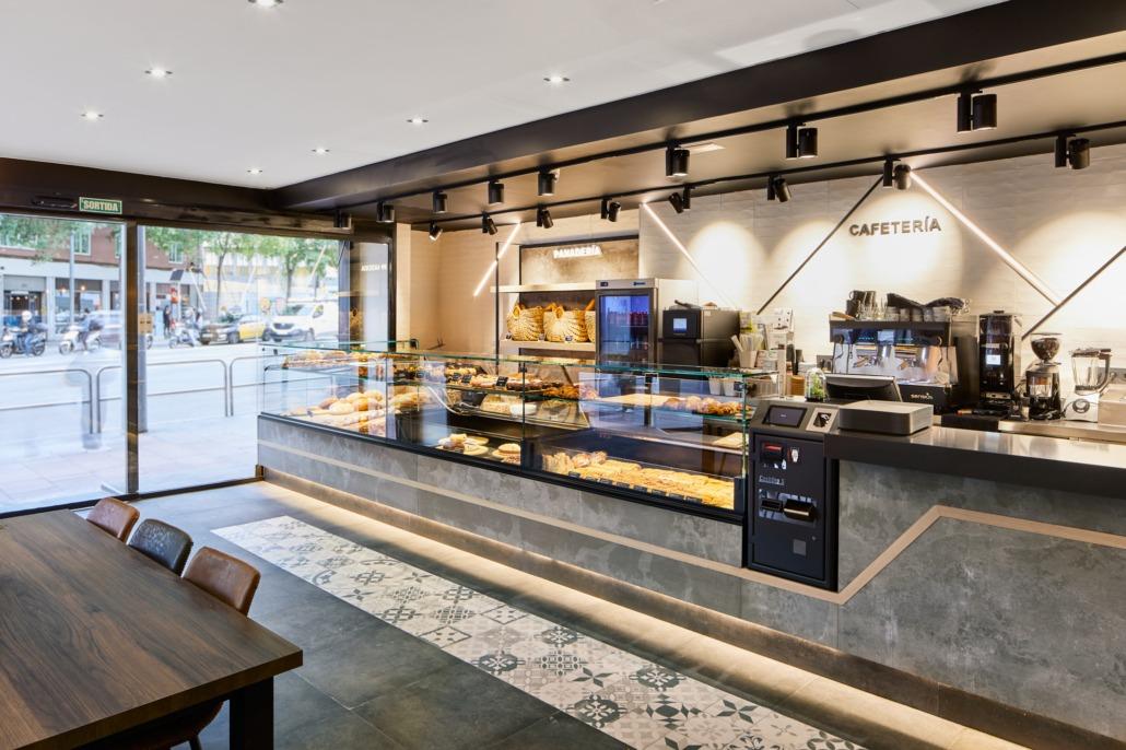 Reforma de la panadería Trigo en Barcelona